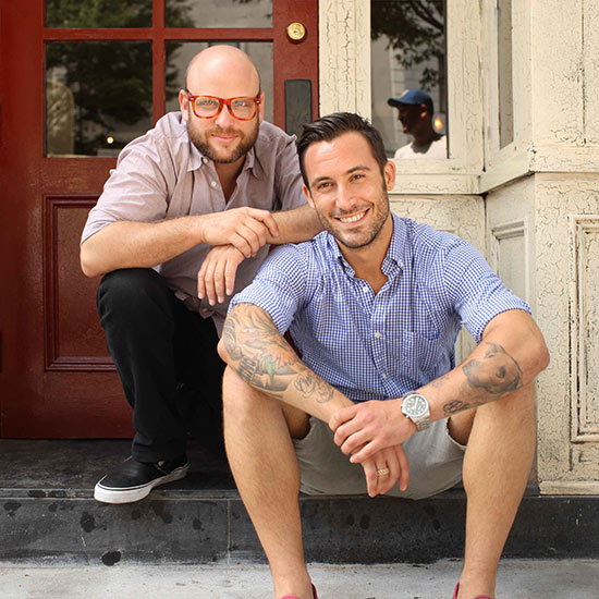 The Meatball Shop's Michael Chernow and Daniel Holzman.