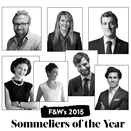 2015 Sommeliers of the Year