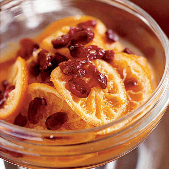 Satsuma Orange and Dried-Cranberry Chutney
