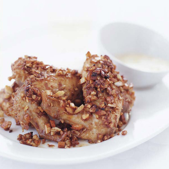 Almond-Crusted Chicken Wings