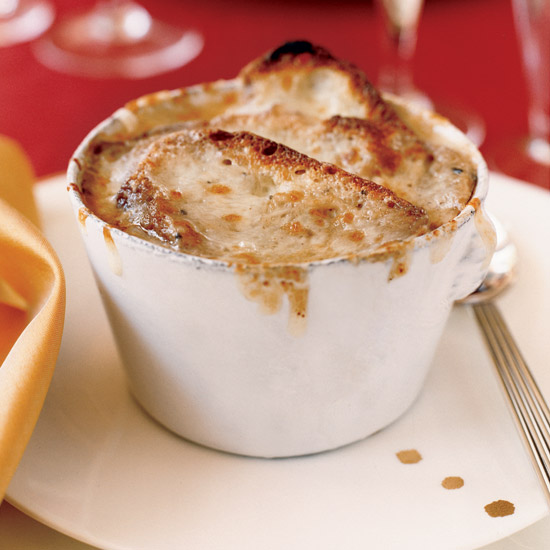 Truffle–Infused French Onion Soup