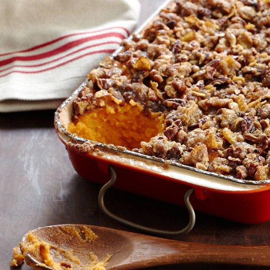 Southern Recipes like Sweet Potato Casserole