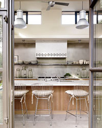 Kitchen Design: The Airy Modern Kitchen