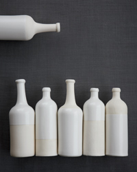Porcelain bottles from Haus Interior