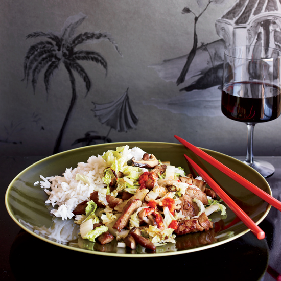 Cecilia Chiang's Shanghai Stir-Fried Pork with Cabbage