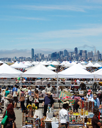 San Francisco Travel Guide: Alameda Point Antiques and Collectibles Faire