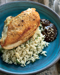 Chicken Breasts with Mole Negro