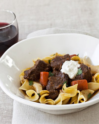 Slow Cooker Beef Goulash