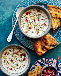 Cool Persian Yogurt Soup for Hot Weather