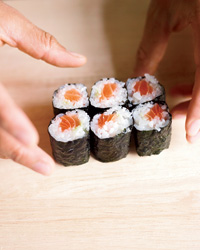 Morimoto Explains How to Make Sushi