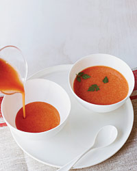 Cool Watermelon Soup for Hot Weather