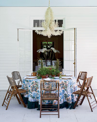 Aerin Lauder's Casual Table Style