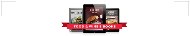 Food & Wine E-Books